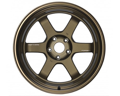 Volk Racing TE37V Mark-II Wheel 18x12 5x114.3 -20mm Bronze