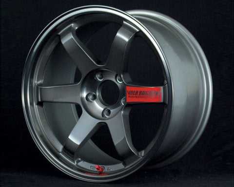Volk Racing TE37SL Pressed Graphite Wheel 17x7.5 5x114.3 40mm