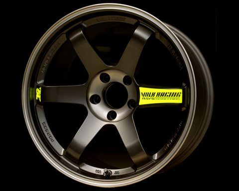 Volk Racing TE37SL Black Edition Wheel 18x9 5x114.3 45mm