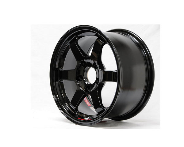 Volk Racing TE37SL Limited Edition Gloss Black Wheel 18x10 5x114.3 30mm