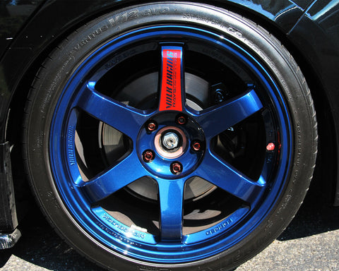 Volk Racing TE37SL Limited Edition Mag Blue Wheel 18x10 5x114.3 30mm