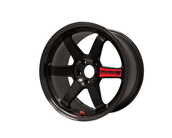 Volk Racing TE37SL Limited Edition Flat Black Wheel 18x9.5 5x114.3 22mm