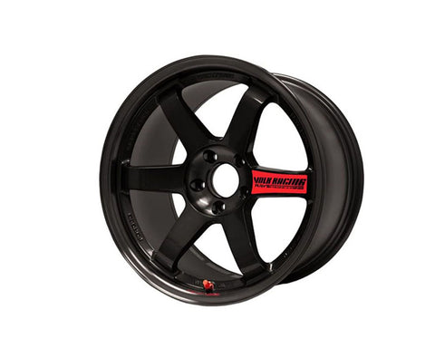 Volk Racing TE37SL Limited Edition Flat Black Wheel 18x10 5x114.3 30mm