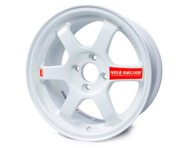 Volk Racing TE37SL Limited Edition White Wheel 18x10.5 5x114.3 22mm