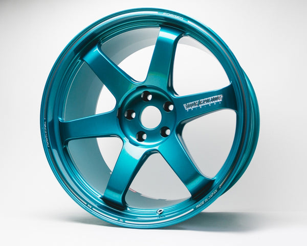 Volk Racing TE37 Ultra Wheel 20x10 5x114.3 30mm Hyper Green