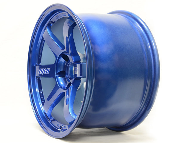 Volk Racing TE37 Ultra M Spec Wheel 20x9 37mm 5x114.3 Mag Blue