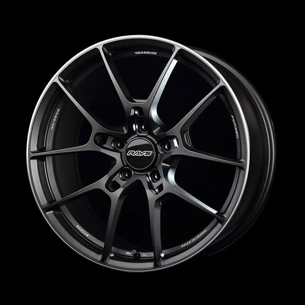 Volk Racing G025 Wheel 19x8.5 5x114.3 +38mm Matte Gun Black