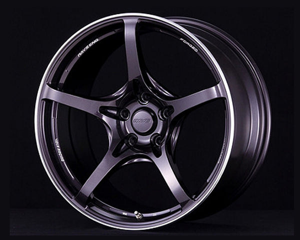 Volk Racing Dark Purple Gunmetal G50 Wheel 19x10.5 5x114.3 20mm