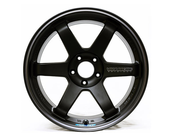 Volk Racing TE37 RT Black Edition Wheel 18x10 5x114.3 29mm