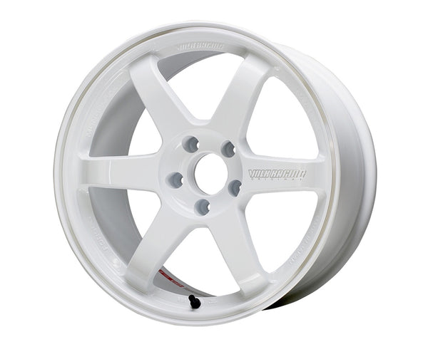 Volk Racing Dash White TE37 RT Wheel 18x10 5x114.3 39mm