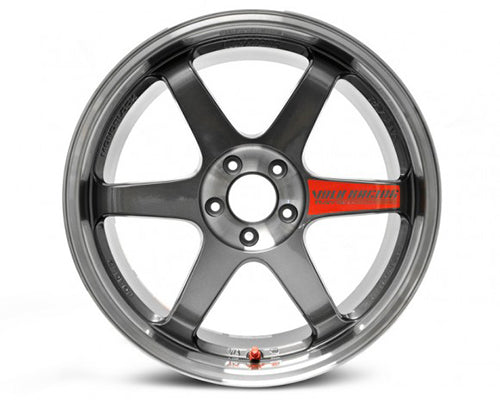 Volk Racing TE3V7SL Pressed Graphite Limited 2015 Edition Wheel 4x114.3 17x10 -20mm