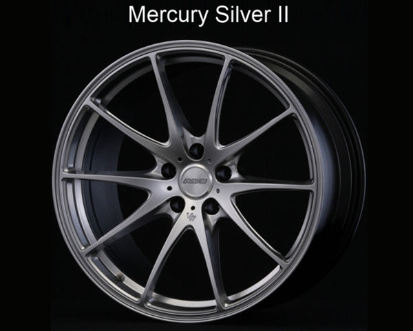 Volk Racing Mercury Silver G25 Wheel 20x11 5x114.3 34mm