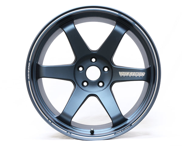 Volk Racing TE37 Ultra Wheel 20x10 5x114.3 25mm Matte Blue Gunmetal