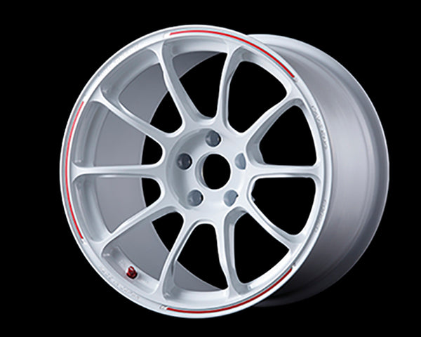 Volk Racing ZE40 RW Limited Wheel 18x10.5 5x114.3 16mm Dash White/Redot