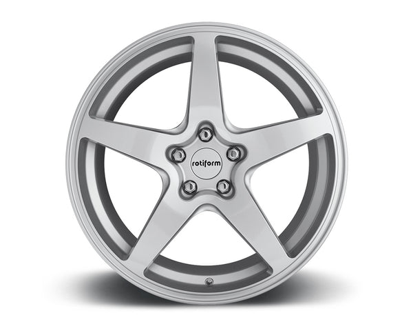 Rotiform WGR Gloss Silver Cast Monoblock Wheel 18x9.5 5x114.3 40mm