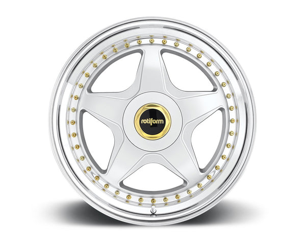 Rotiform WRO 2-Piece Forged Welded Flat Wheels
