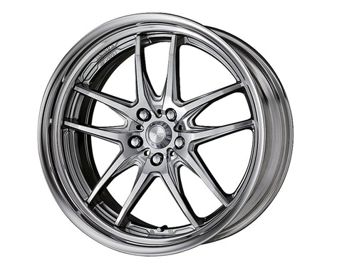 Work XSA 04C 19x8 Reverse Step Lip Wheel