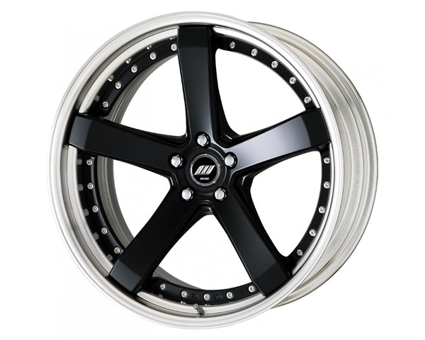 Work Zeast ST2 19x8 Step Lip Middle Concave Wheel