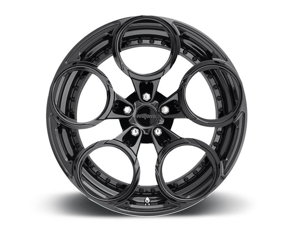 Rotiform ZRH 3-Piece Forged Flat/Convex Center Wheels