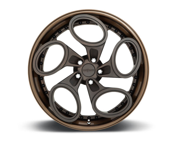 Rotiform ZRH-T 3-Piece Forged Deep Concave Center Wheels