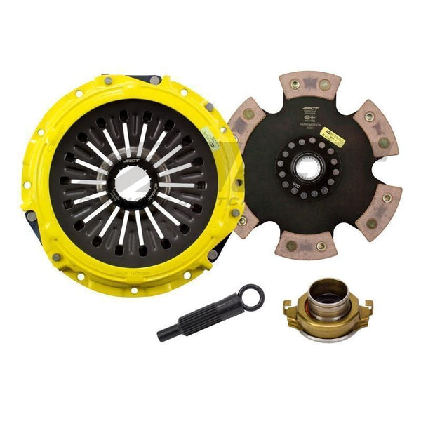 ACT HD-M/Race Rigid 6 Pad Clutch Kit | 2008-2015 Mitsubishi Evo X GSR (ME3-HDR6)