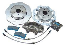 Brake Man Storm System Rear Brake Upgrade Kit | 2008-2015 Mitsubishi Evo X (001-1164)