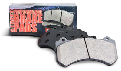 Brake System Components - Street Performance Front And Rear Brake Pads For STI, EVO 8 / 9 , G35 / 350z By Stoptech (309.10010 / 309.09610)
