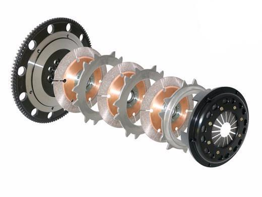 Competition Clutch 184mm Rigid Triple Disc Clutch Kit | 1996-2006 Mitsubishi Evo 4/5/6/7/8/9 (4T-5152-C)