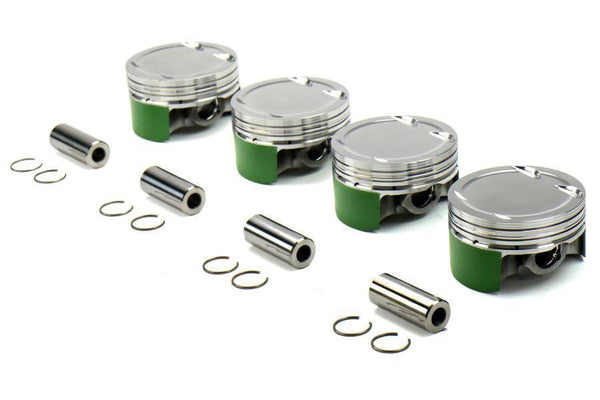 Engine Internals & Assemblies - Cosworth Forged Piston Set 86mm 10.0:1 Stroker | 2008-2015 Mitsubishi Evo X (20009276)