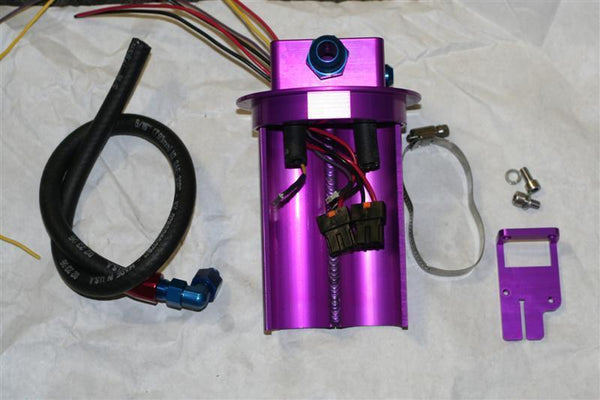 Full Blown Motorsports Dual Fuel Pump Hanger (Evo X)
