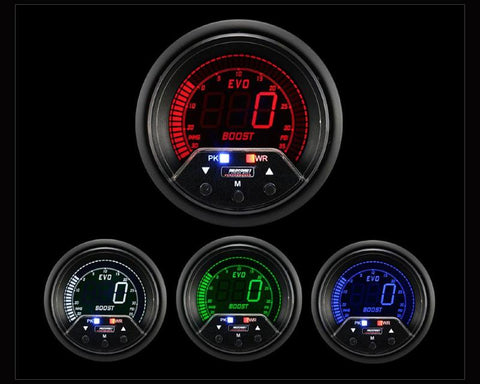 Gauges - Prosport Performance | Boost Gauge With Waterproof Sender | Evo VII-IX