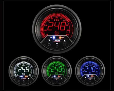 Gauges - Prosport Performance | Oil Temperature Gauge With Warning | Evo VII-IX