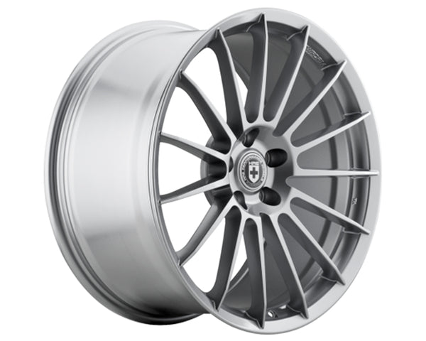 HRE FF15 Liquid Silver FlowForm Wheel 19x10 5x114.3 50mm