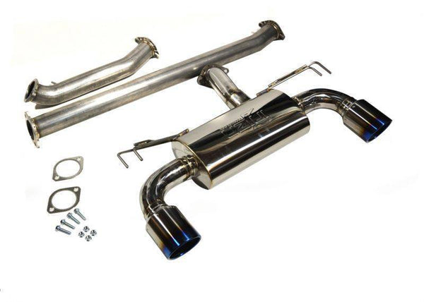 Injen Stainless Steel Cat-Back Exhaust | 2008-2015 Mitsubishi Evo X (SES1899CB)
