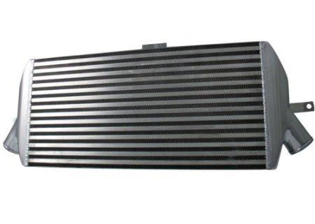 Intercooler System Components - 2003-2006 Mitsubishi EVO 8/9/MR Intercooler Core W/ 3 Inlet End Tanks (23.75 X 11.75 X 3.5) By Injen (SES1898ICC)