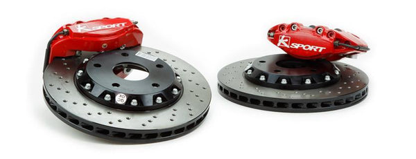 Ksport SuperComp 8 Piston Rear Big Brake System