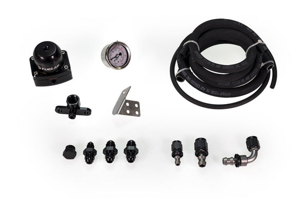 MAPerformance AFPR Install Kit with FueLab Fuel Pressure Regulator | 2008-2015 Mitsubishi Lancer Evolution X (EVOX-AFPR-Fuelab)
