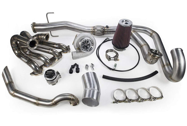 MAP V-Band Inlet Top Mount Turbo Kit | 2003-2006 Mitsubishi Evo 8/9 (EVO-VBAND-TMK)
