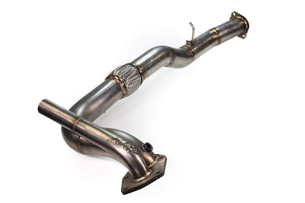 MAP Stainless Steel O2 Eliminator Downpipe | 1996-2001 Mitsubishi Evo 4/5/6 (EVO46-O2E-EXT-3D)