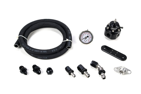 MAP AFPR Install Kit with AEM Regulator | 2003-2007 Mitsubishi Evo 8/9 (EVO-AFPR-AEM)