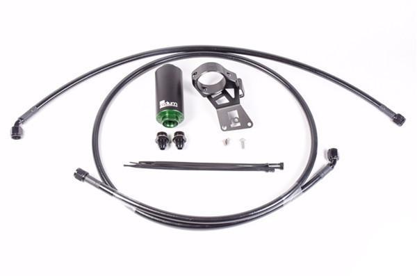 Radium Engineering Fuel Feed Line Kit with Filter | 2008-2015 Mitsubishi Evo X (20-0246)