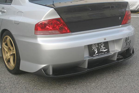 Rear Bumper - ChargeSpeed | Type 1 Carbon Rear Diffuser | Evo VII-IX