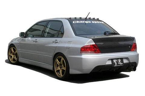 Rear Bumper - ChargeSpeed | Type 2 Rear Bumper W/ Carbon Diffuser | Evo VII-IX