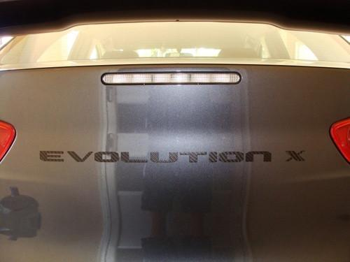 Rexpeed Carbon Fiber Evolution X Trunk Badge | 2008-2015 Mitsubishi Evo X (R129)
