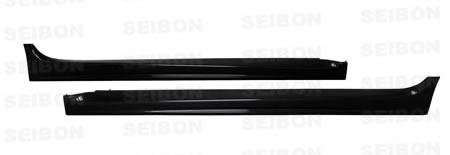 Side Skirts - Seibon | Carbon Fiber OEM-Style Side Skirts | Evo X