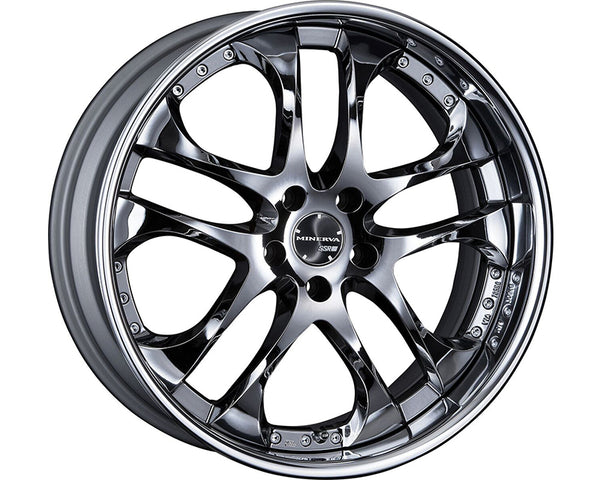SSR Minerva 5x100 3-Piece Wheel 20x10.5