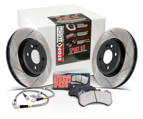 Stoptech Sport Slotted Rear Brake Kit | (977.46001R)
