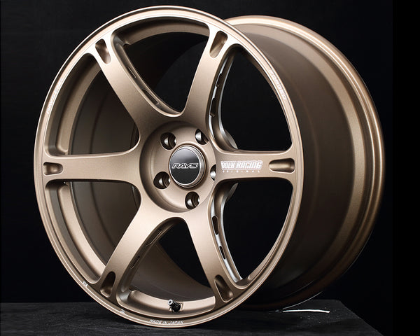 Volk Racing TE037 6061 Wheel 18x10.5 5x114.3 24mm Blast Bronze