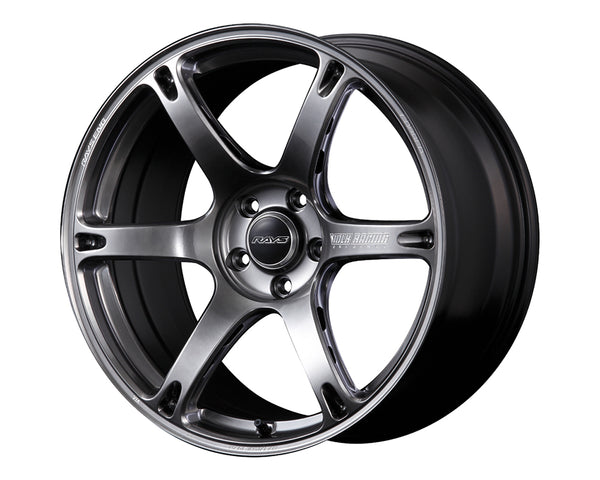 Volk Racing TE037 6061 Wheel 18x8.5 5x114.3 35mm Formula Silver