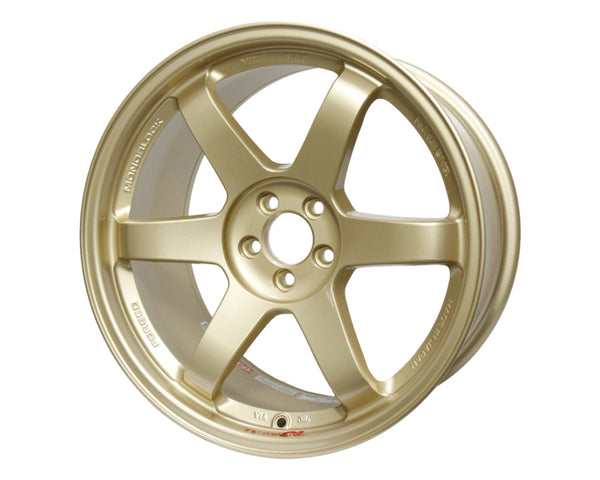 Volk Racing TE37SL Wheel 18x9.5 5x114.3 22mm Gold